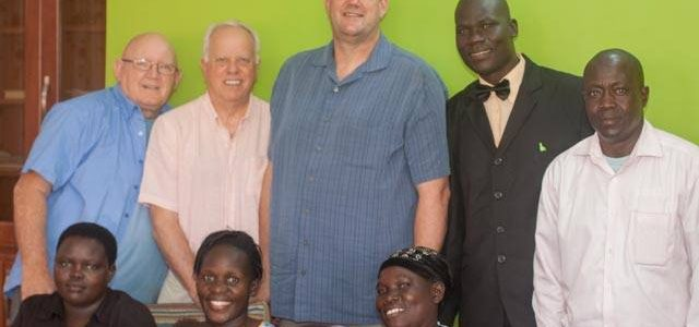 Paul and Dennis Uganda