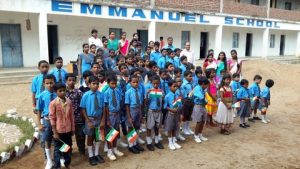 Sponsor a child in India at Emmanuel School