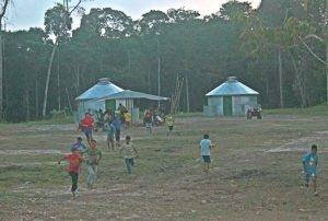Mission trips to Peru build Safe T Home camps