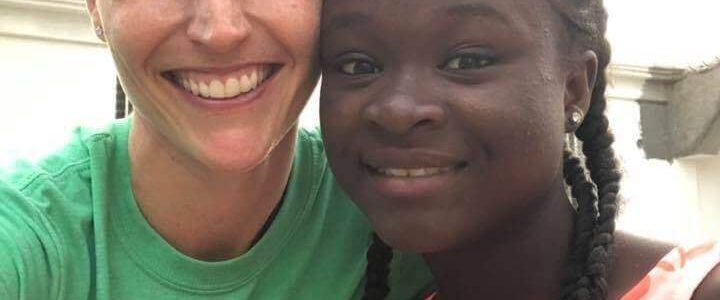 GoServ Global volunteer sponsors a child